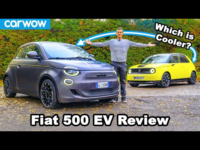 New Fiat 500 Electric review - better than the <em>Honda</em> e?