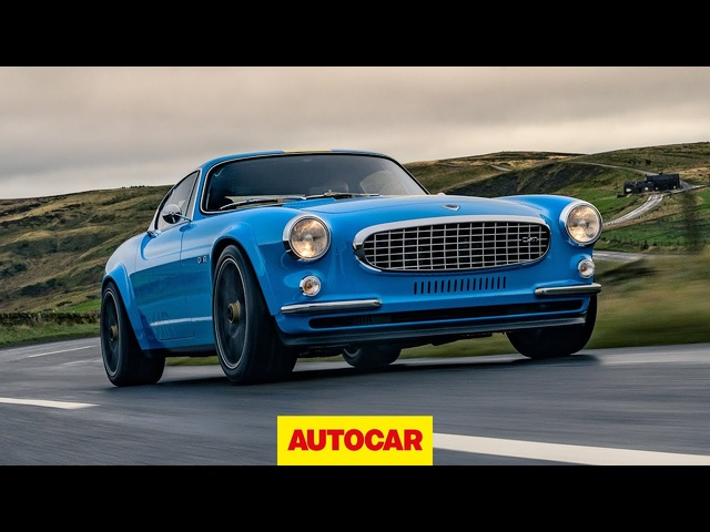 Volvo P1800 Cyan Racing review | Amazing restomod tested | Autocar