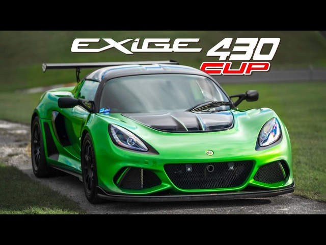 Lotus Exige Cup 430: Track Review at Cadwell Park   Carfection 4K