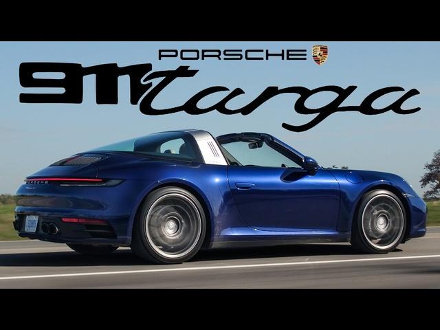 AWESOME! 2021 Porsche 911 Targa Review