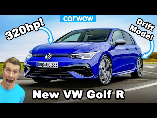 New VW Golf R 2021 -it makes the GTI pointless!