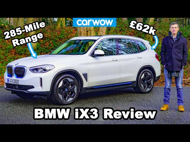 BMW iX3 2021 review - a German Tesla Model Y?