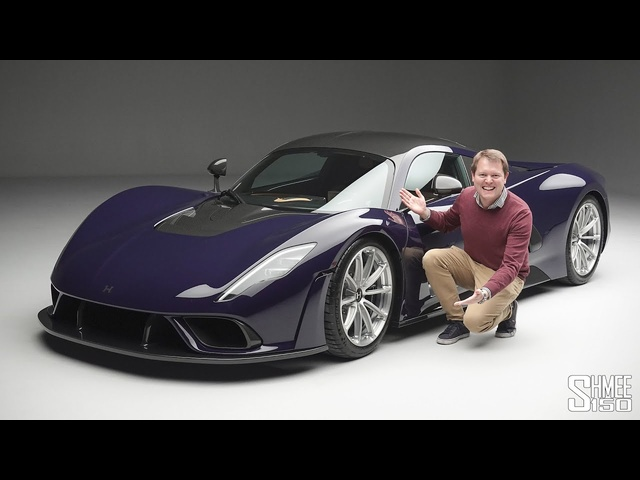 Check Out the HENNESSEY VENOM F5! | FIRST LOOK