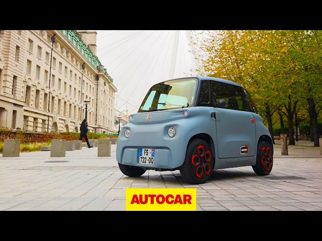 Citroen AMI review | Driving the new electric city car, at 28mph | Autocar