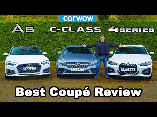 <em>BMW</em> 4 Series v Audi A5 v Mercedes C-Class review - which is best?