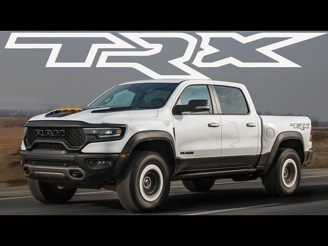 HELLCAT TRUCK! 2021 Ram 1500 TRX Review