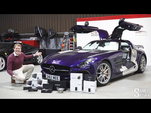 £10,000 ULTIMATE Sound System for My SLS Black Series!