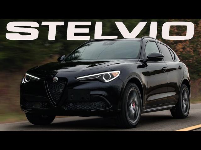 BEST HANDLING! 2020 Alfa Romeo Stelvio Ti Nero Edizione Review