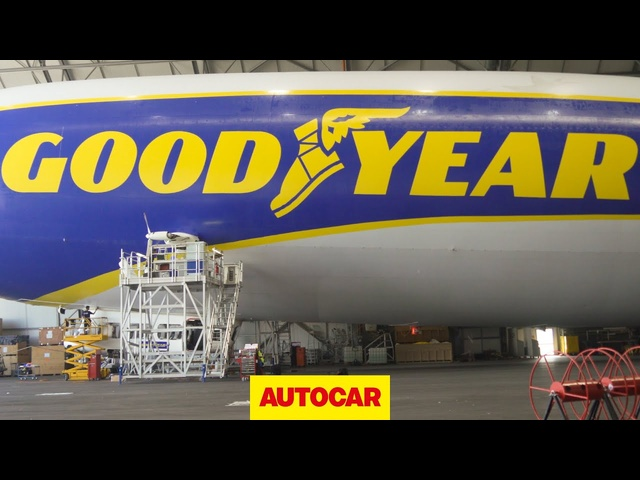 Autocar Christmas Road Test 2020 | Zeppelin airship 'The Goodyear Blimp'