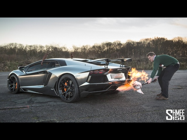 My Ears STILL HURT From Cooking the Christmas Turkey with an Aventador!