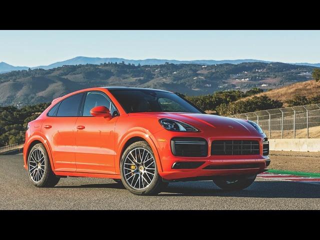 2020 Porsche Cayenne Turbo Coupe Hot Lap! -2020 Best Driver's Car Contender
