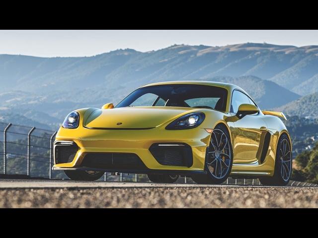 2020 Porsche 718 Cayman GT4 Hot Lap! -2020 Best Driver's Car Contender
