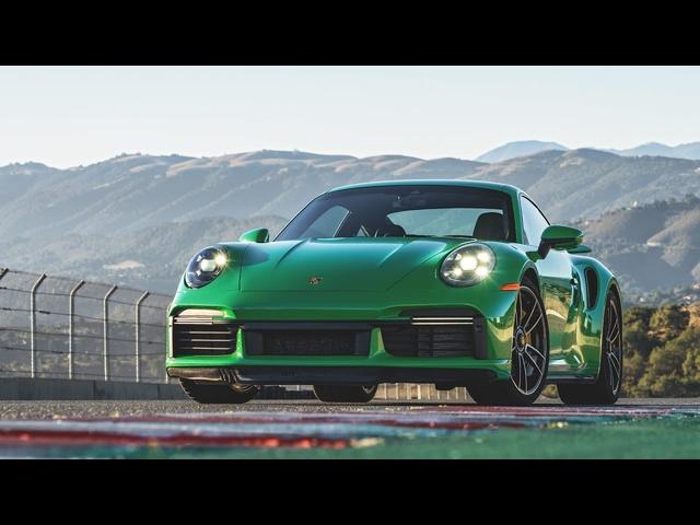 2021 Porsche 911 Turbo S Hot Lap! -2020 Best Driver's Car Contender