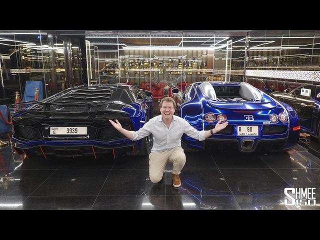 The Coolest Supercar Garage in DUBAI! DonCasanova's Car Collection
