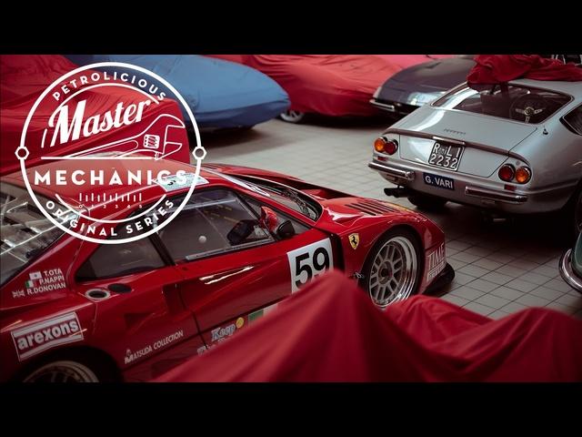 Master Mechanics: Ferrari Restoration At Autofficina Bonini