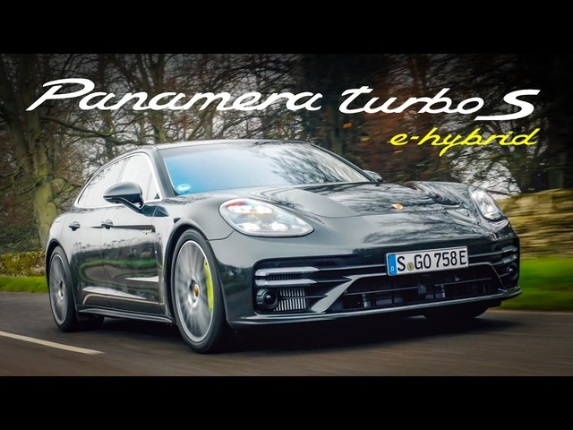 NEW Porsche Panamera Turbo S E-Hybrid Sport Turismo: Road Review | Carfection 4K