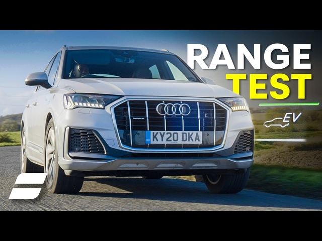 Audi Q7 Plug-In Hybrid: Electric-Only Range Test! | 4K
