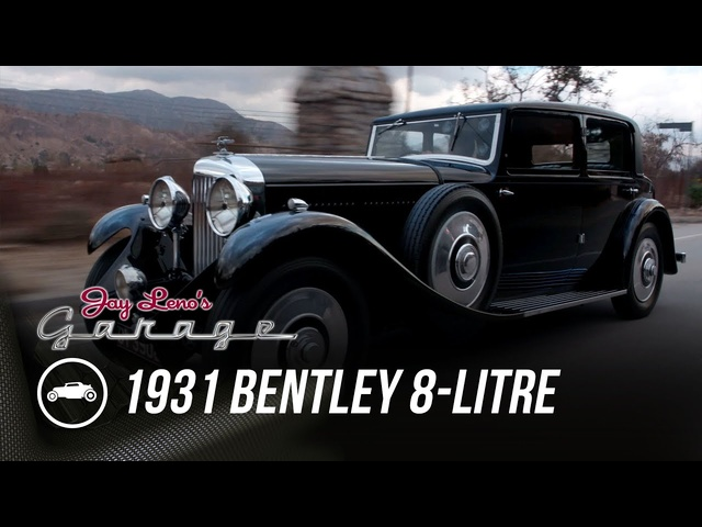 1931 <em>Bentley</em> 8-Litre Mulliner Sedan - Jay Leno's Garage