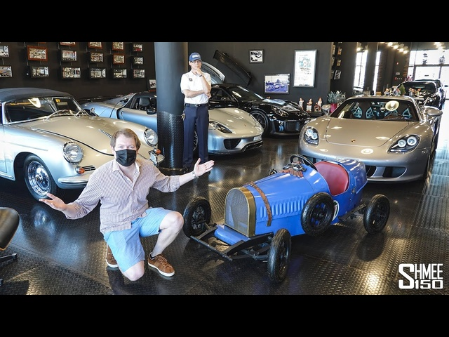 SUPERCAR MANCAVE! Dubai's Newest Porsche and <em>Ferrari</em> Gallery