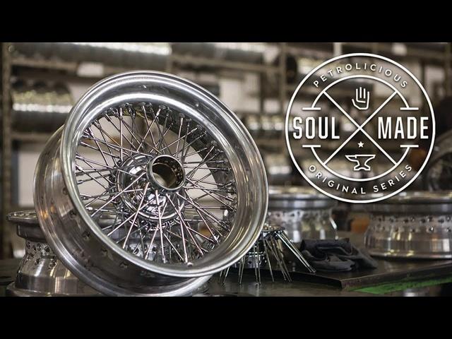 Soul Made: Ruote Borrani Wire Wheels