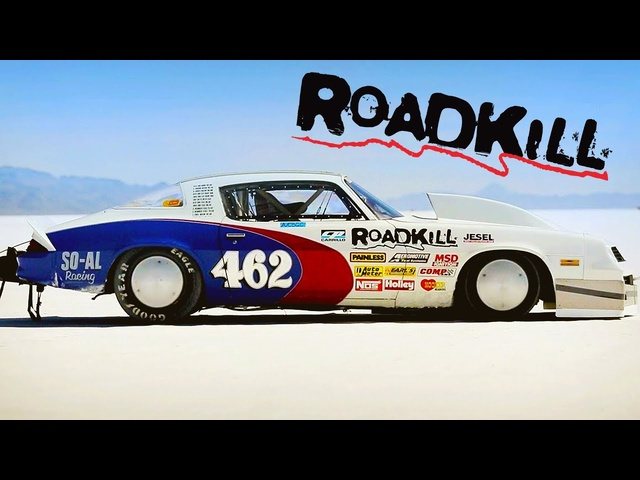 1100hp Camaro Goes for A Landspeed Record! | Roadkill | MotorTrend
