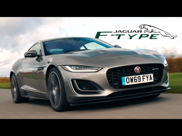 2021 Jaguar F-Type P450: Road Review | Carfection 4K