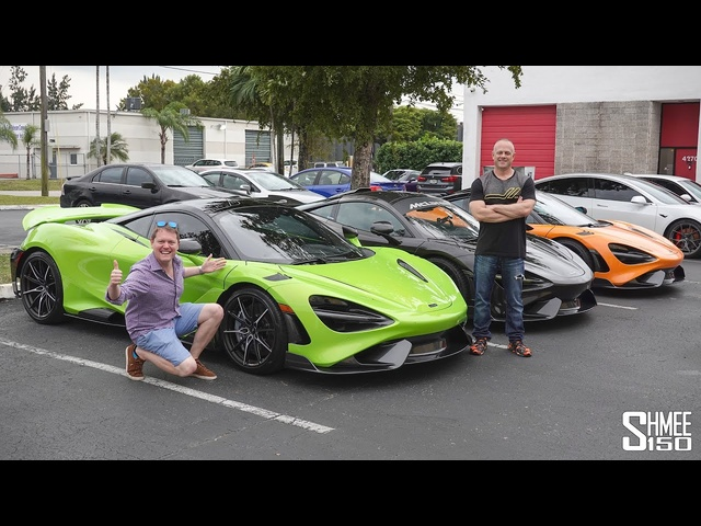 My Friend BOUGHT the CHEAPEST McLaren 765LT! Collection Day with DragTimes