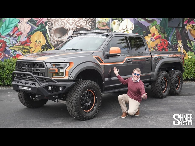 The HENNESSEY VELOCIRAPTOR 6x6 is an Absolute MONSTER! Crazy Ford F150 Raptor