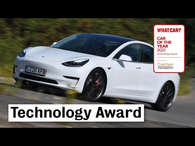 2021 What Car? Technology Award - Tesla's over-the-air updates | What Car?