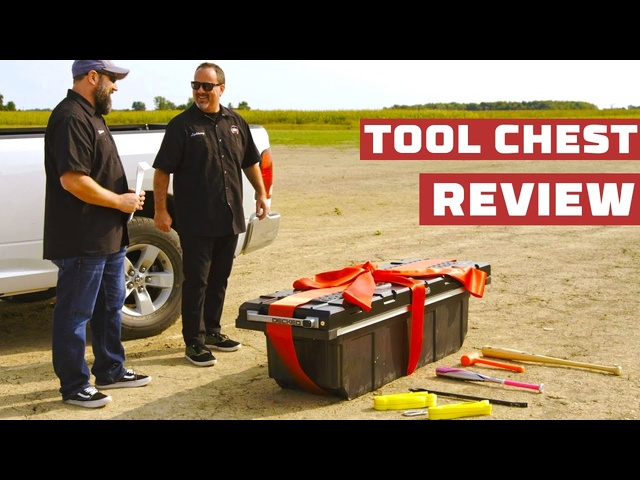 Tool Box Test: The Truck Show Gets DECKED Out! | MotorTrend