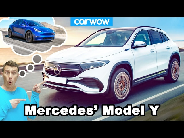Mercedes' Tesla Model Y - the all-electric EQA!