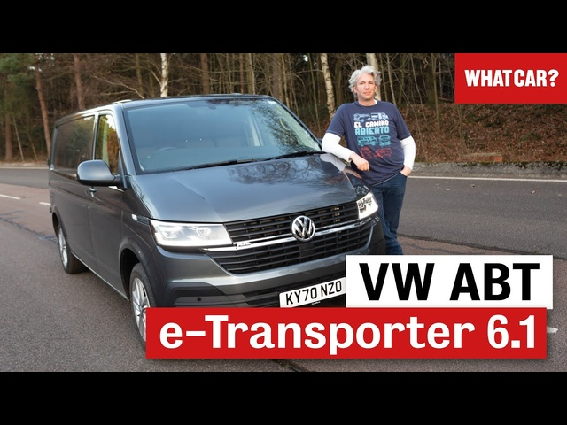 VW AMT e-Transporter 6.1 electric van review 2021 | Edd China | What Car?