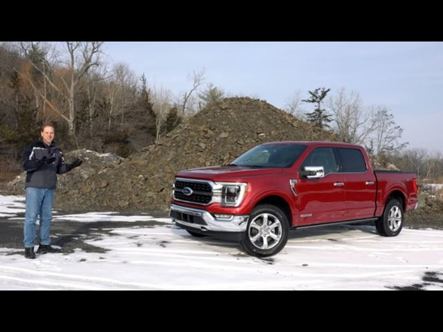 2021 Ford F-150 King Ranch | The Hybrid Pickup Evolved