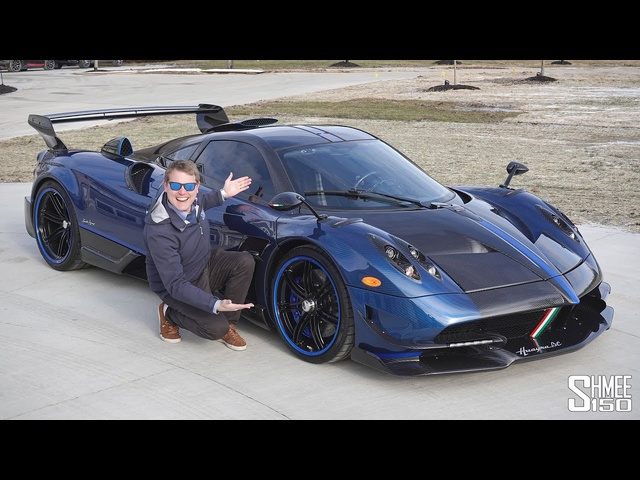 Driving My Friend's PAGANI HUAYRA BC MACCHINA VOLANTE! The Ultimate Hypercar?
