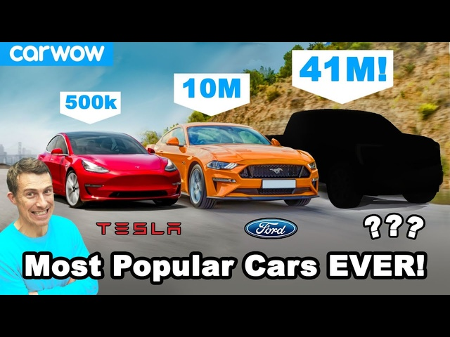The 12 best selling cars ever - can YOU guess them?