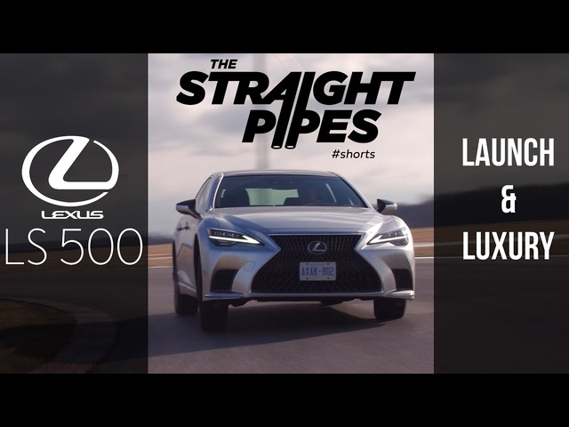 2021 Lexus LS500 Launch & Luxury #Shorts