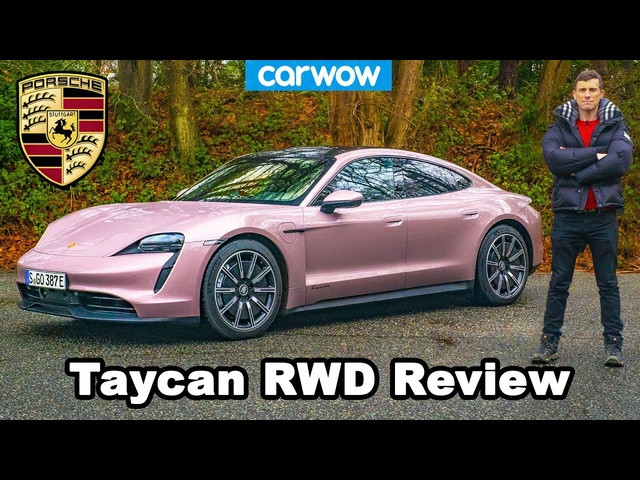 Porsche Taycan RWD review: 0-60mph, 1/4 mile & drift test!