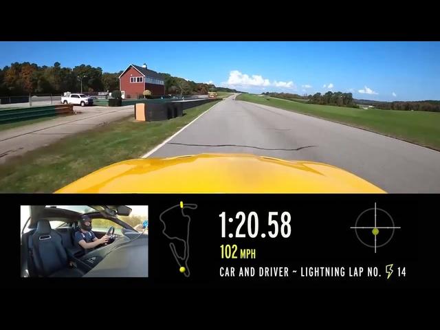2020 Jaguar F Type R at Lightning Lap 2021