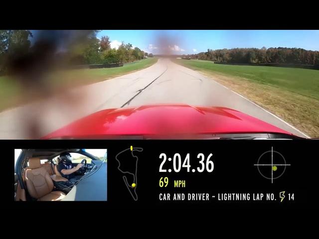2020 Cadillac CT5-V at Lightning Lap 2021