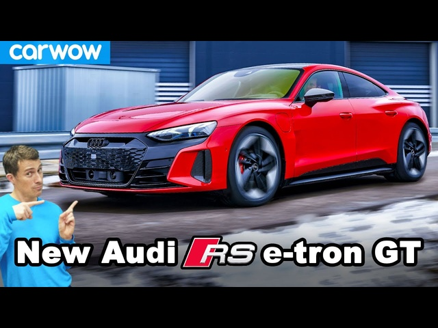 Audi RS e-tron GT: better looking than aTaycan and Model S?