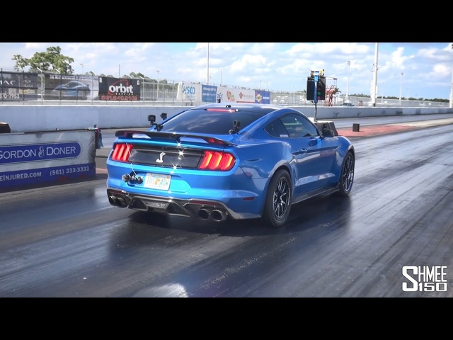 Tuned Shelby GT500 CX1100 Completes a 9.251s 1/4 Mile!