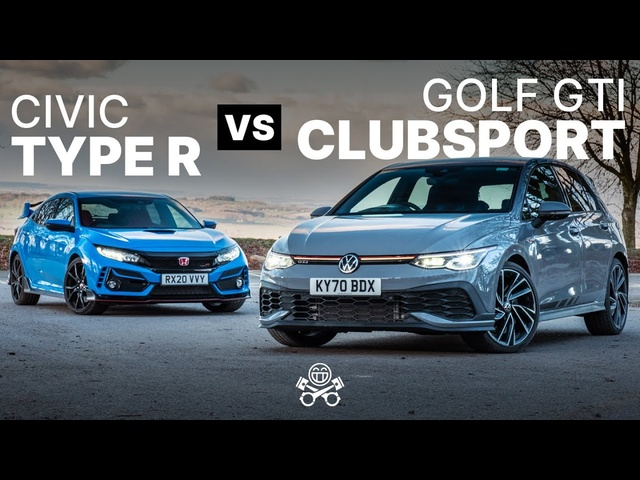 2021 VW Golf GTI Clubsport vs <em>Honda</em> Civic Type R | PistonHeads