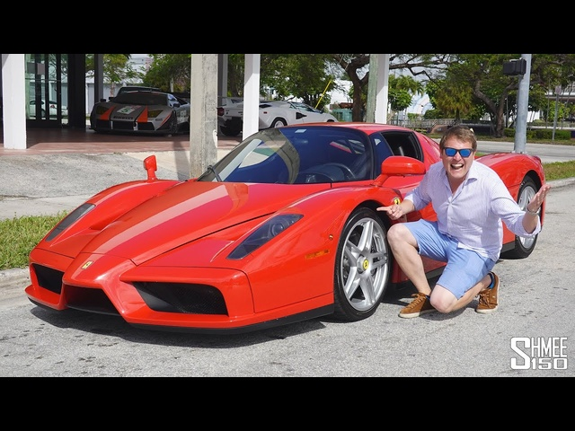Driving a STRAIGHT PIPE <em>Ferrari</em> Enzo! Exclusive Tour at We Are Curated