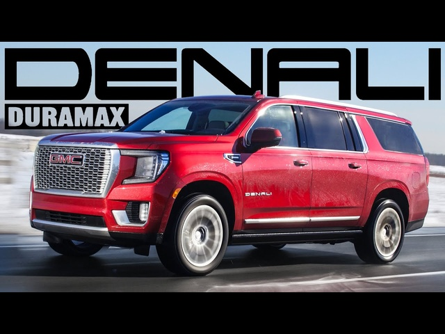 STRONG! 2021 GMC Yukon Denali XL Duramax Diesel Review