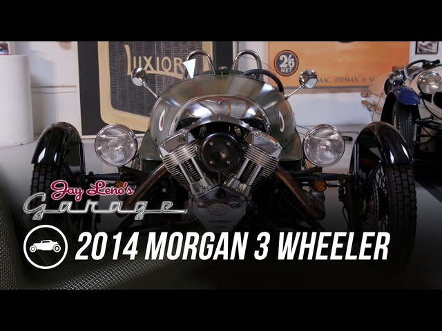 2014 Morgan 3 Wheeler - Jay Leno's Garage
