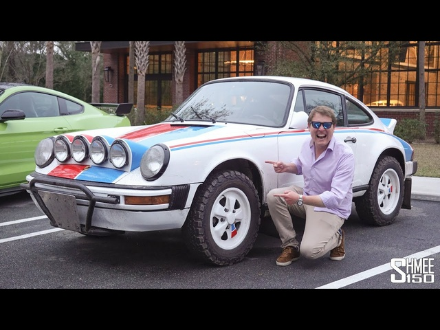 RALLY <em>PORSCHE</em>! Off-road in the 911 Safari at the Incredible Brumos Collection