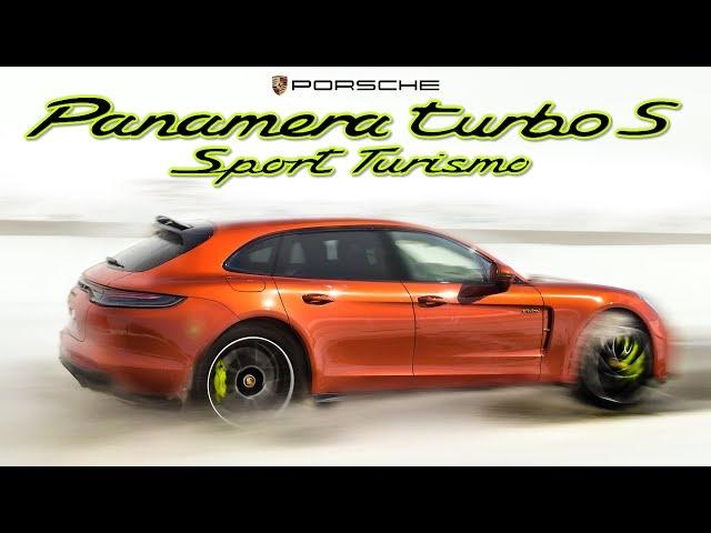 HOLY SHHH! 2021 Porsche Panamera Turbo S E-Hybrid Sport Turismo Review