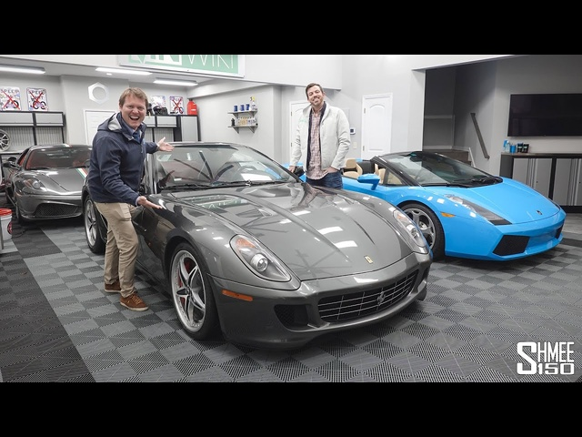 Collecting VINwiki's FLOOD DAMAGED Ferrari 599!