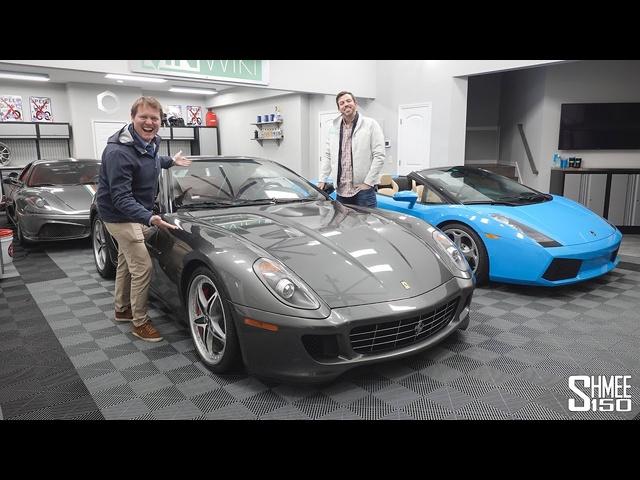 Collecting VINwiki's FLOOD DAMAGED <em>Ferrari</em> 599!