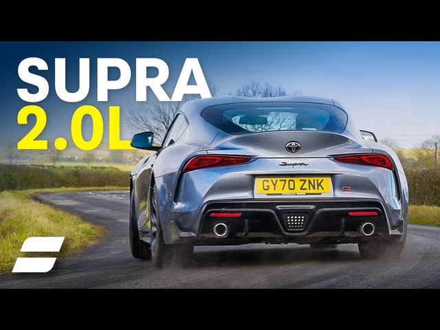 Toyota Supra 2.0 Review: LESS Is More Fun? 4K